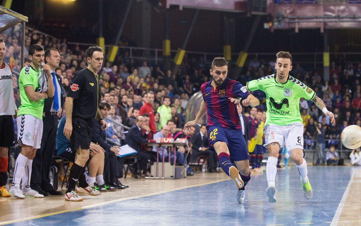 FC Barcelona – Inter Movistar: Un clàssic clau al Palau