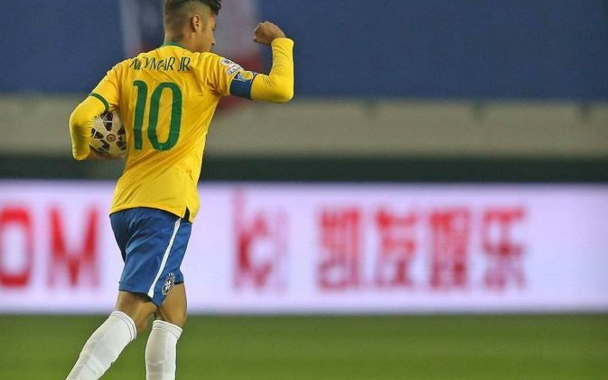 Neymar's jaw-dropping numbers with Brazil