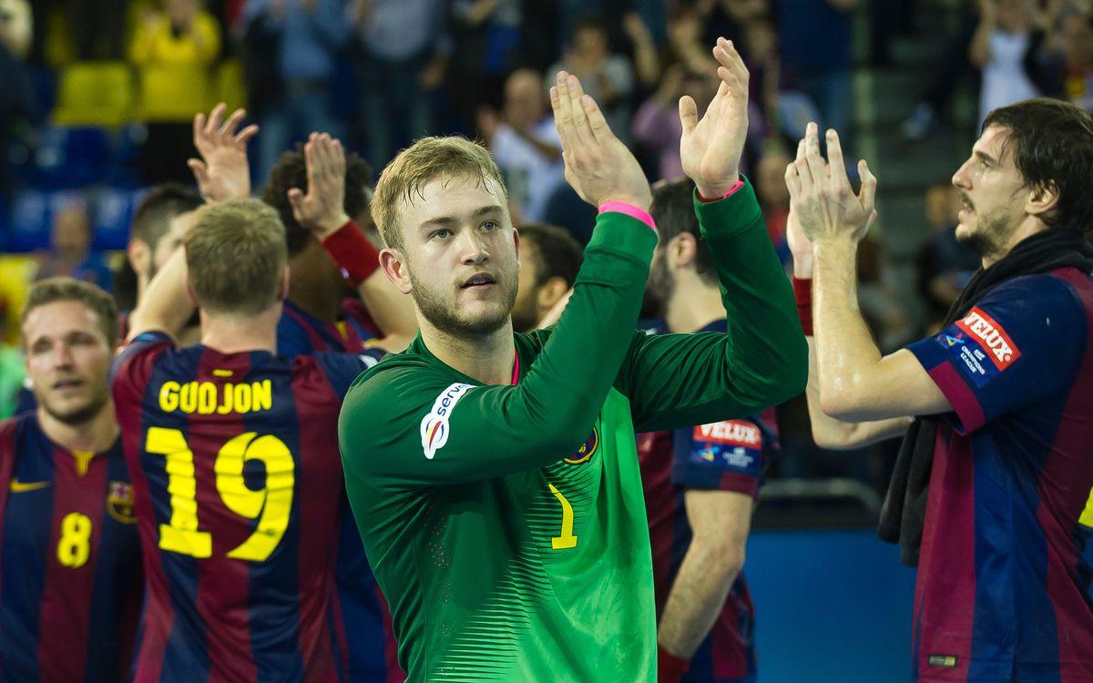 Els reptes de l'any 2015 per al Barça d'handbol
