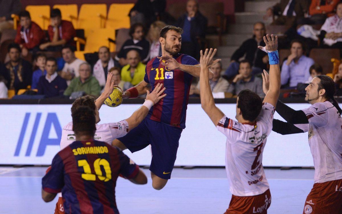 El Barça, a un pas de la Final a Quatre de Copa