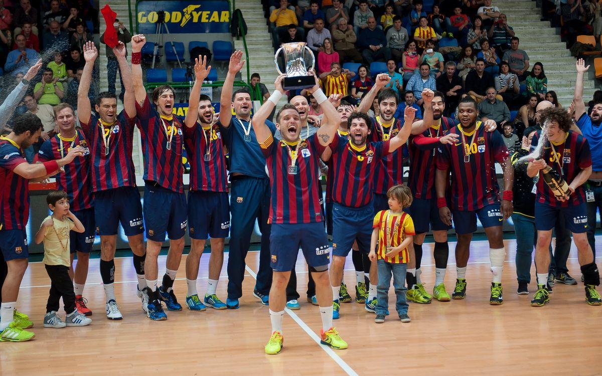 L'Ángel Ximénez Puente Genil, rival del Barça d'handbol a semifinals de la Copa del Rei