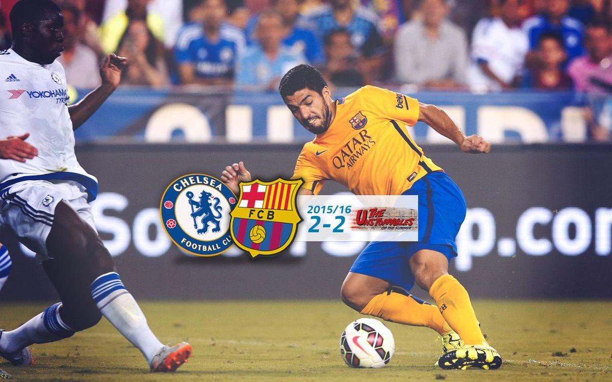 Chelsea: 2 - FC Barcelona: 2