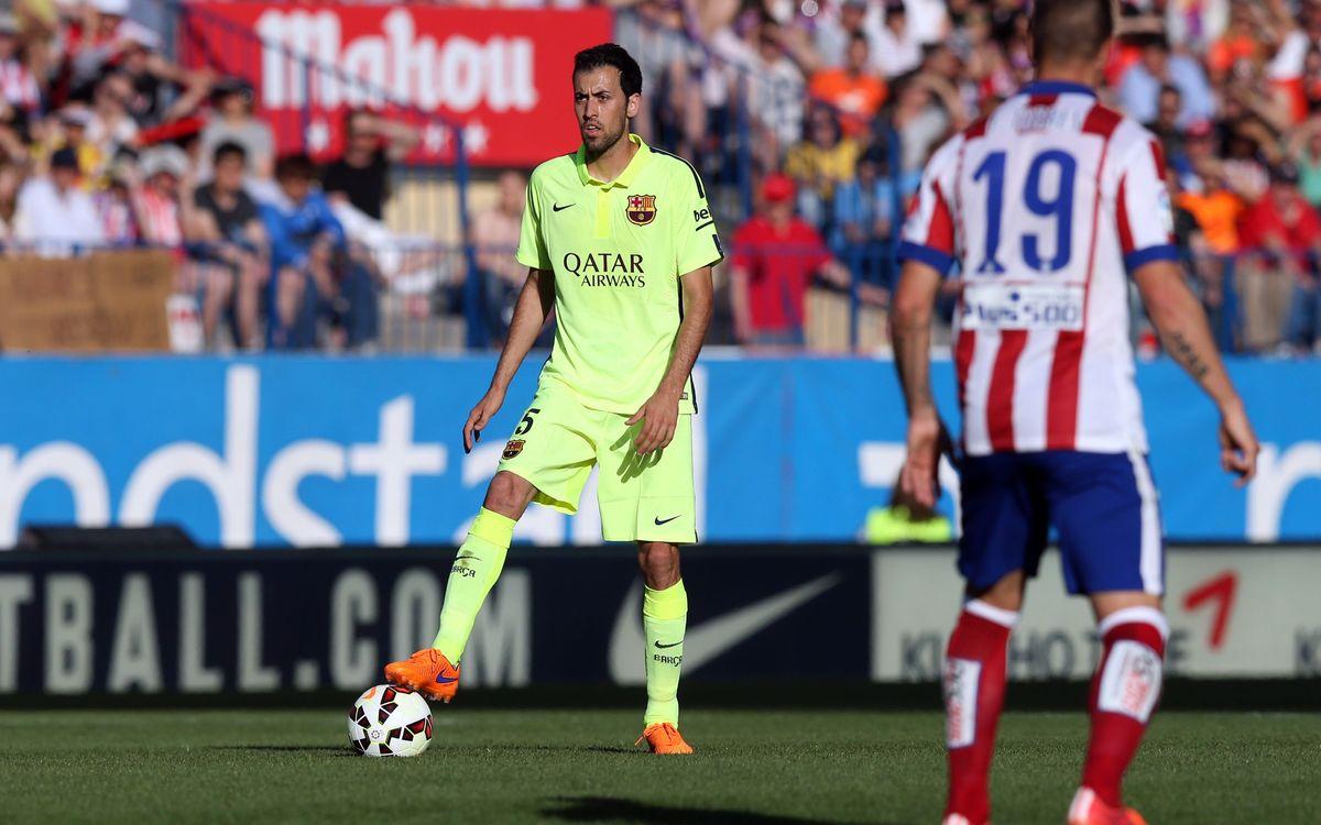 Atlético Madrid v FC Barcelona on Saturday 12 September at 8.30pm CET