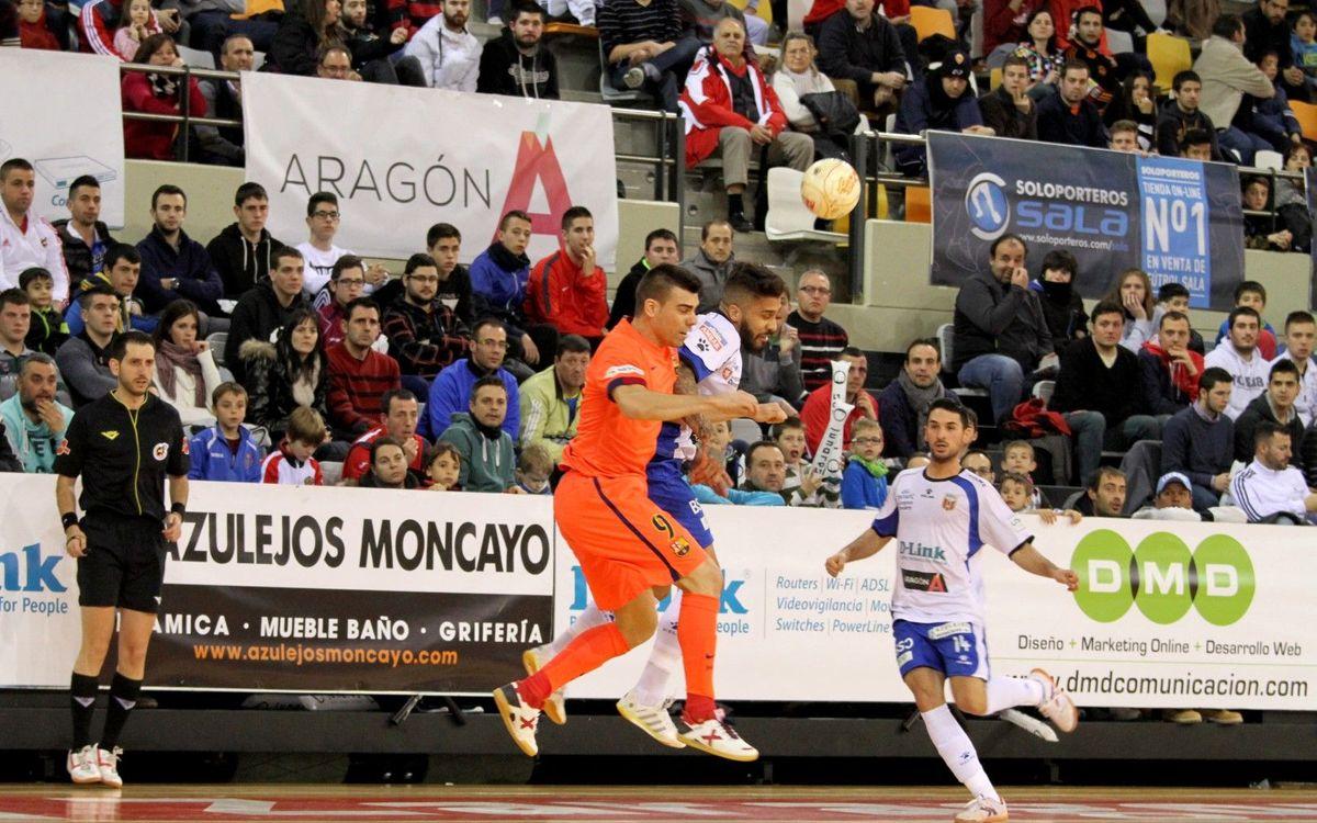 El FC Barcelona Lassa començarà la Lliga contra el D-Link Saragossa
