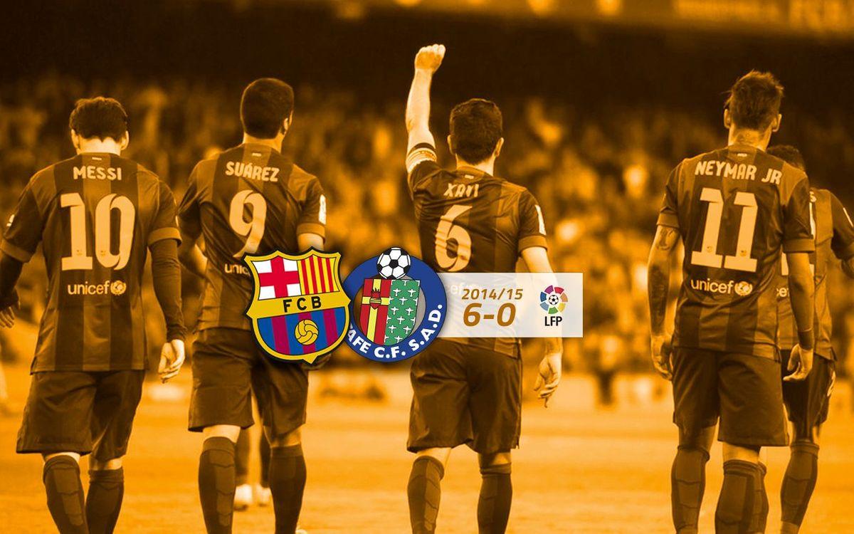 FC Barcelona: 6 - Getafe CF: 0