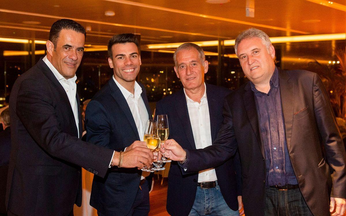 Cena institucional de celebración de Copa