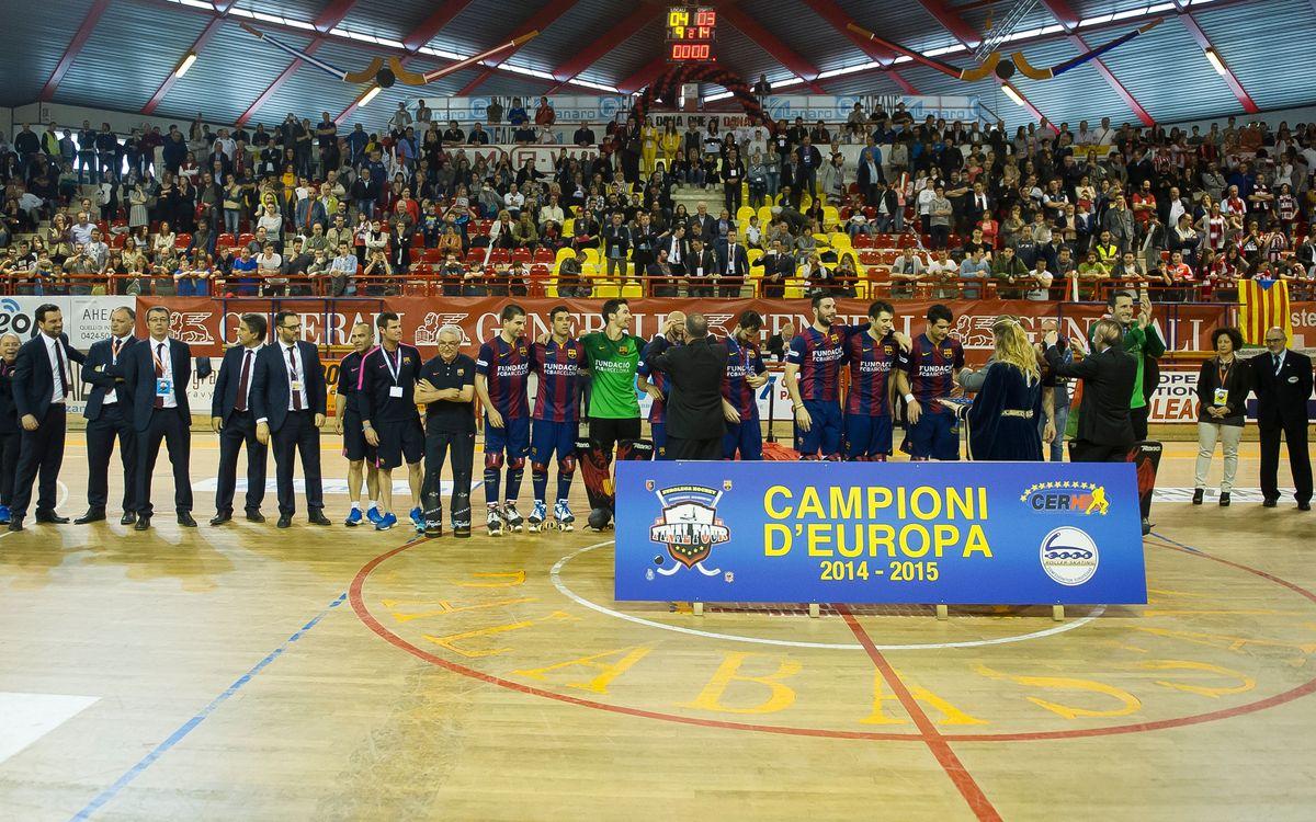 L'hoquei patins aporta la 37a Copa d'Europa al palmarès del Club