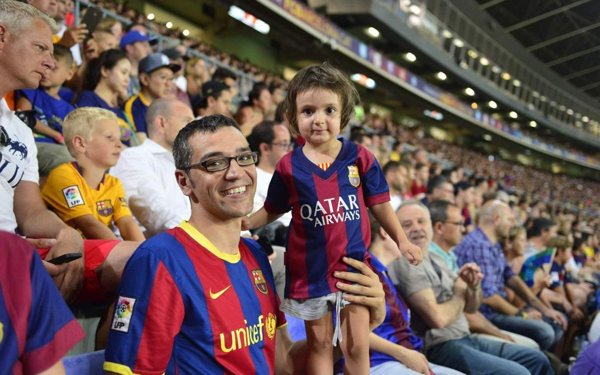 The Gamper: a party for all 'culers'