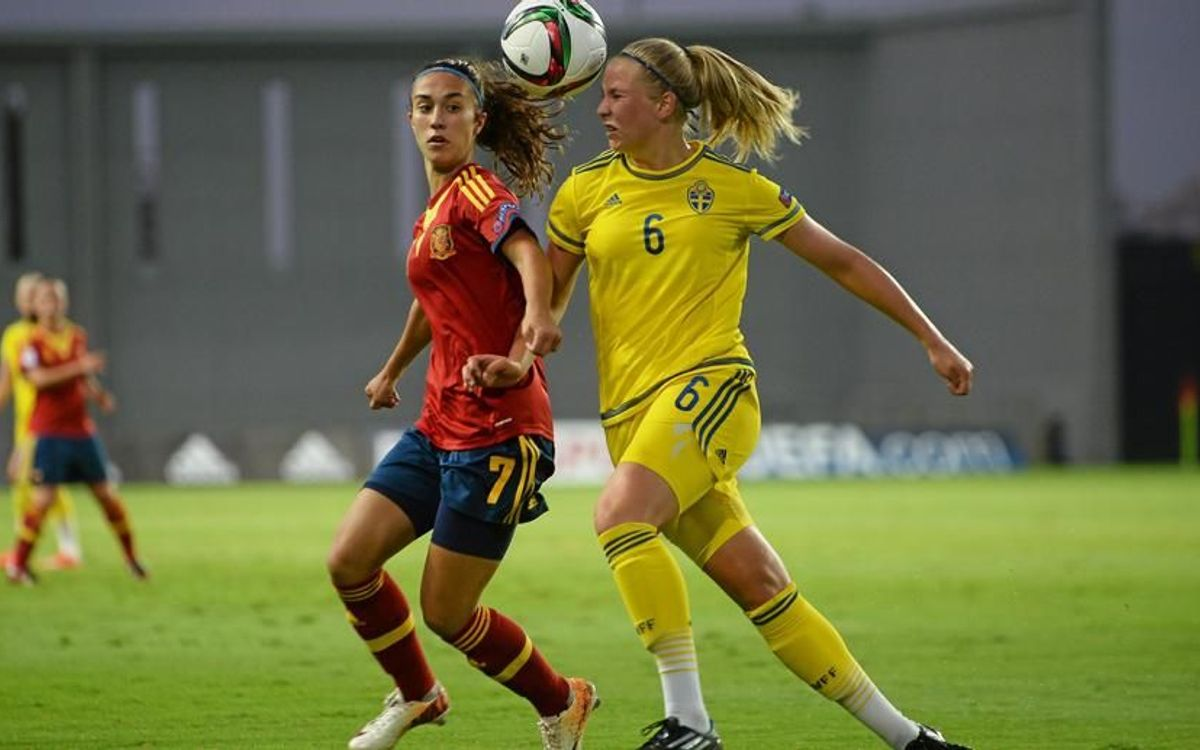 Quatre blaugranes, subcampiones de l'Europeu sub-19 amb la selecció espanyola