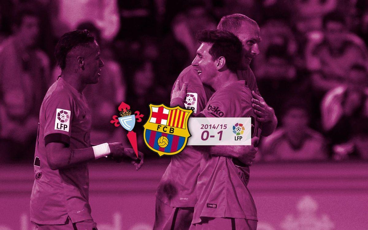 Celta: 0 - FC Barcelona: 1