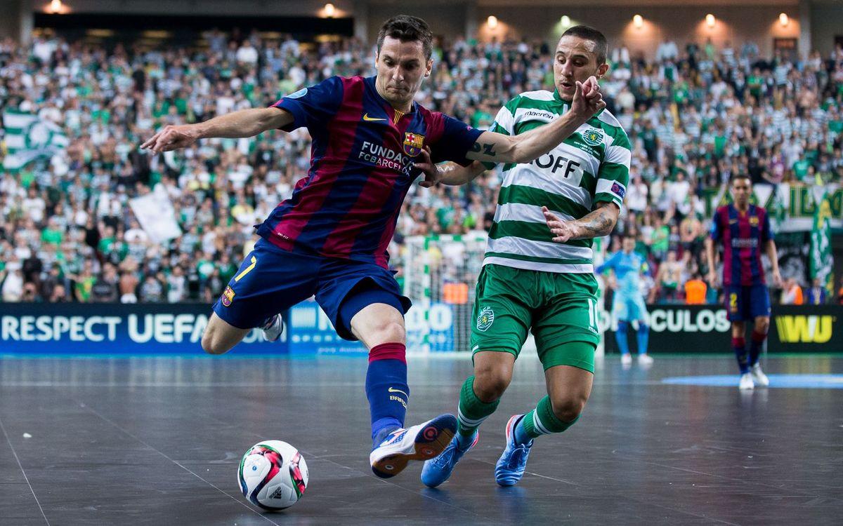 El Barça Lassa, a Lisboa per jugar un torneig amistós