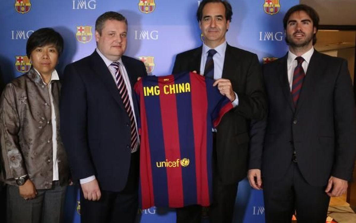 IMG becomes new strategic partner of FC Barcelona in China
