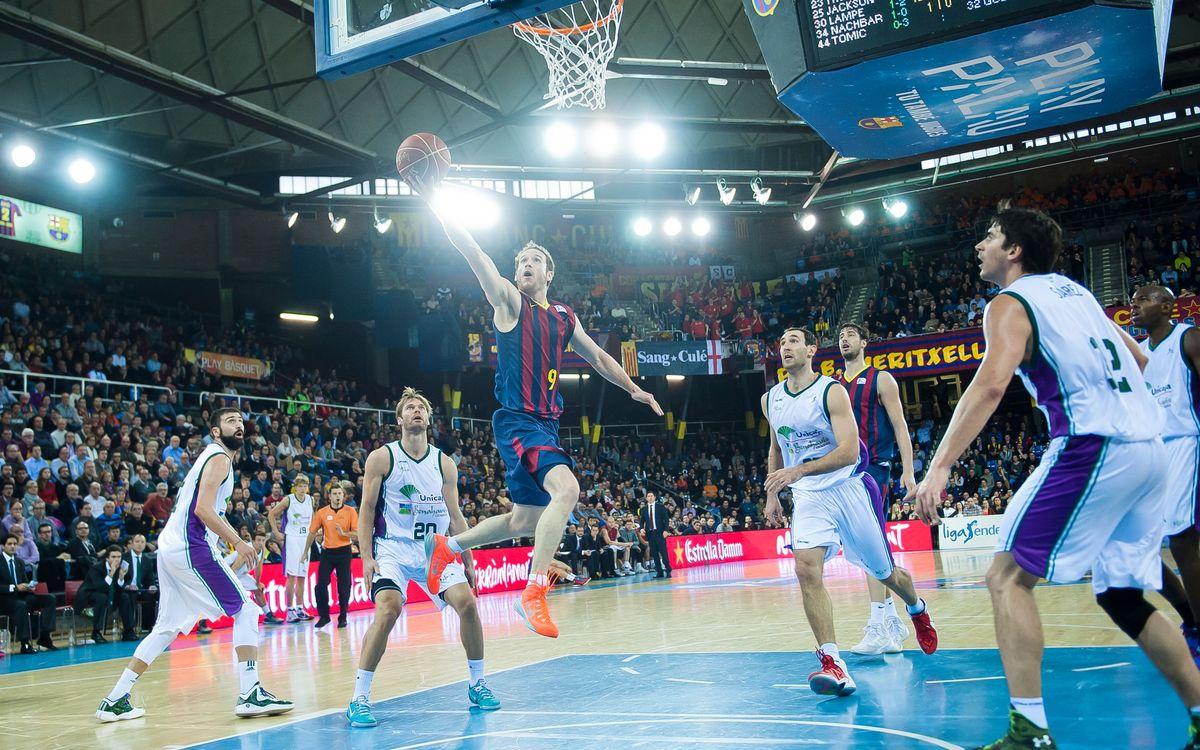 La Lliga Endesa oficialitza els primers horaris del Barça-Unicaja