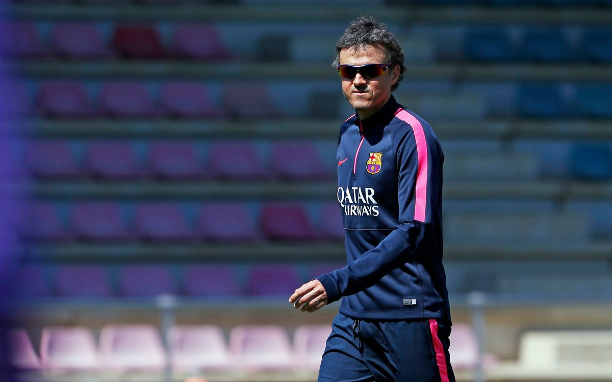 Luis Enrique says Xavi will start on Saturday
