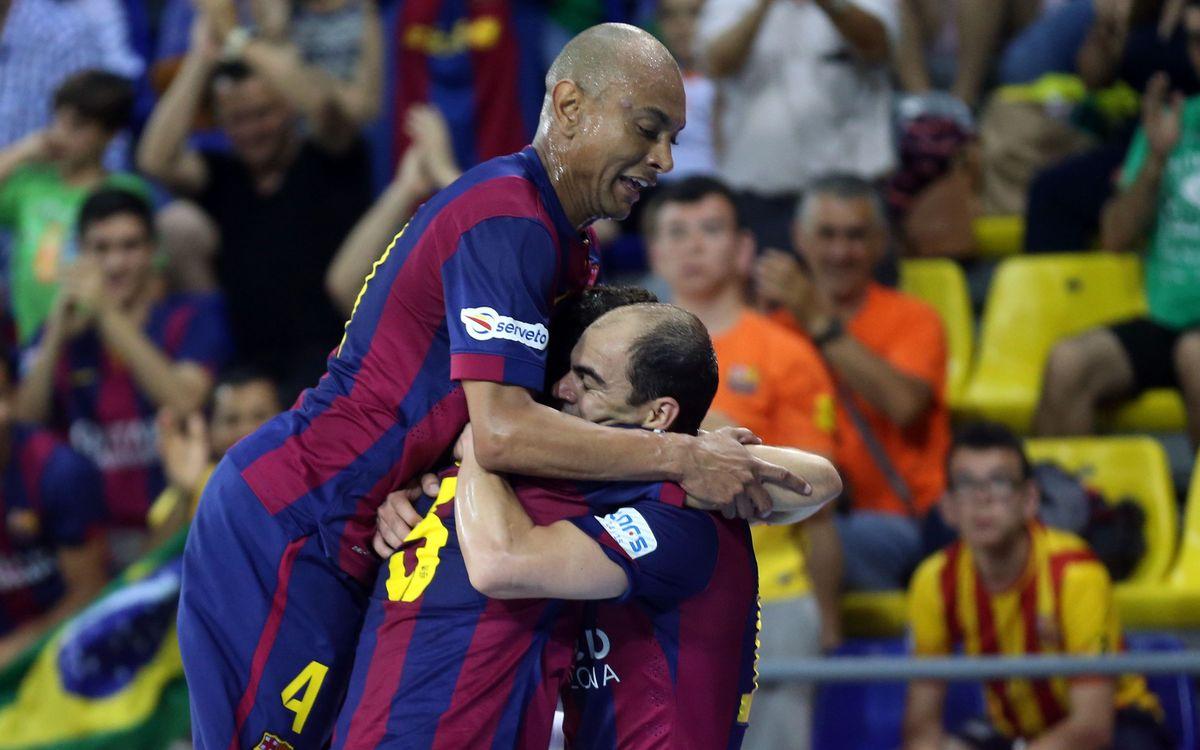 FC Barcelona v Aspil Vidal Ribera Navarra: Next stop, semi-finals (4-3)