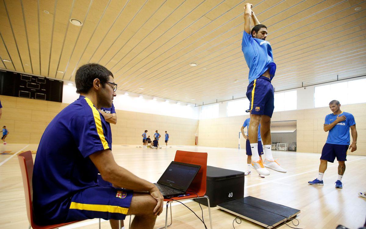 El Barça Lassa passa les proves físiques