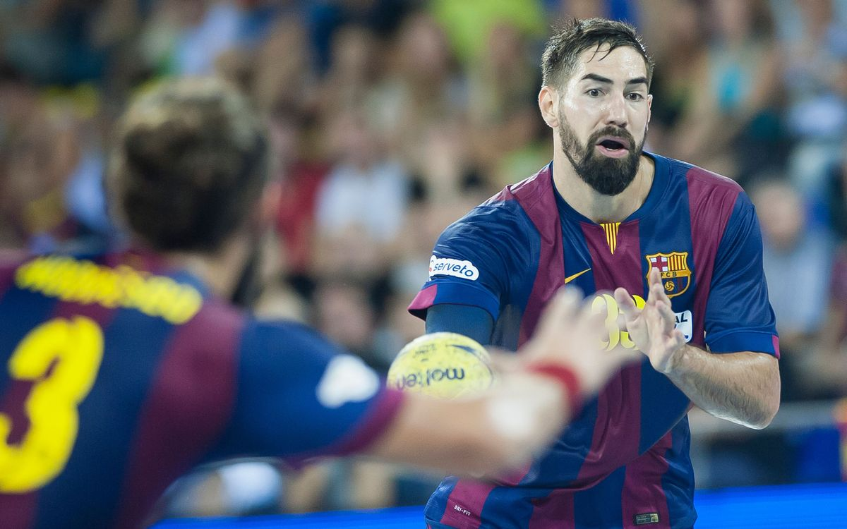 Frigoríficos Morrazo v FC Barcelona: Four out of four (28-35)