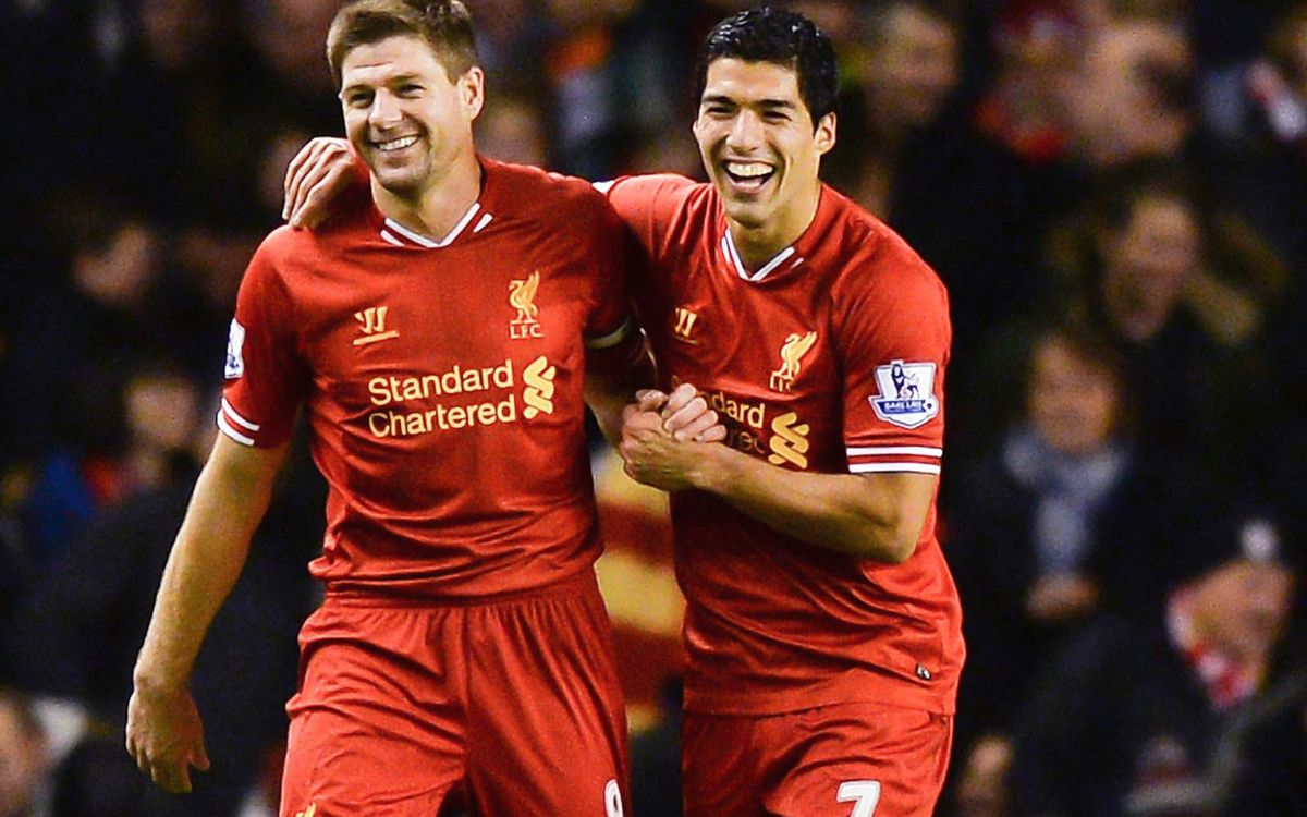 Suárez and Gerrard good friends off the field