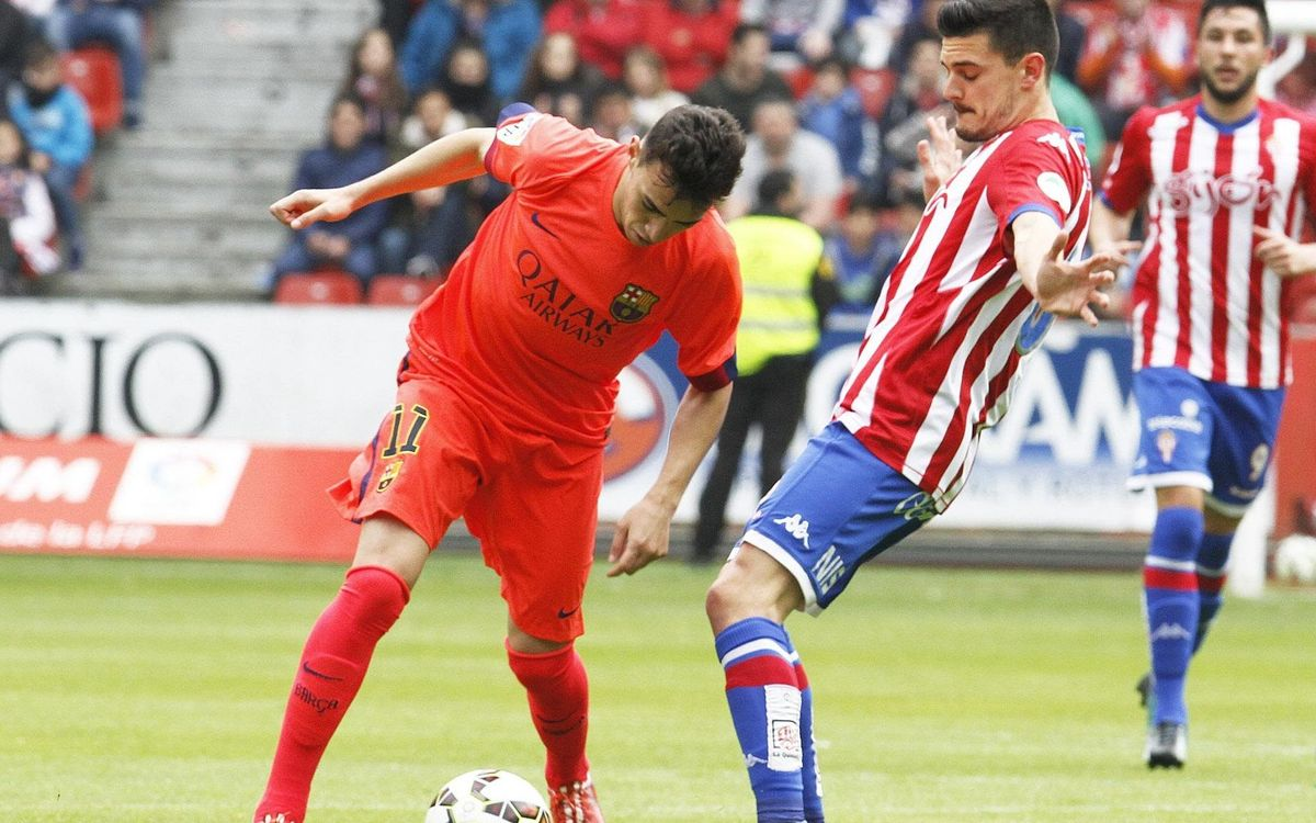 Sporting Gijón – Barça B: Another point (0-0)