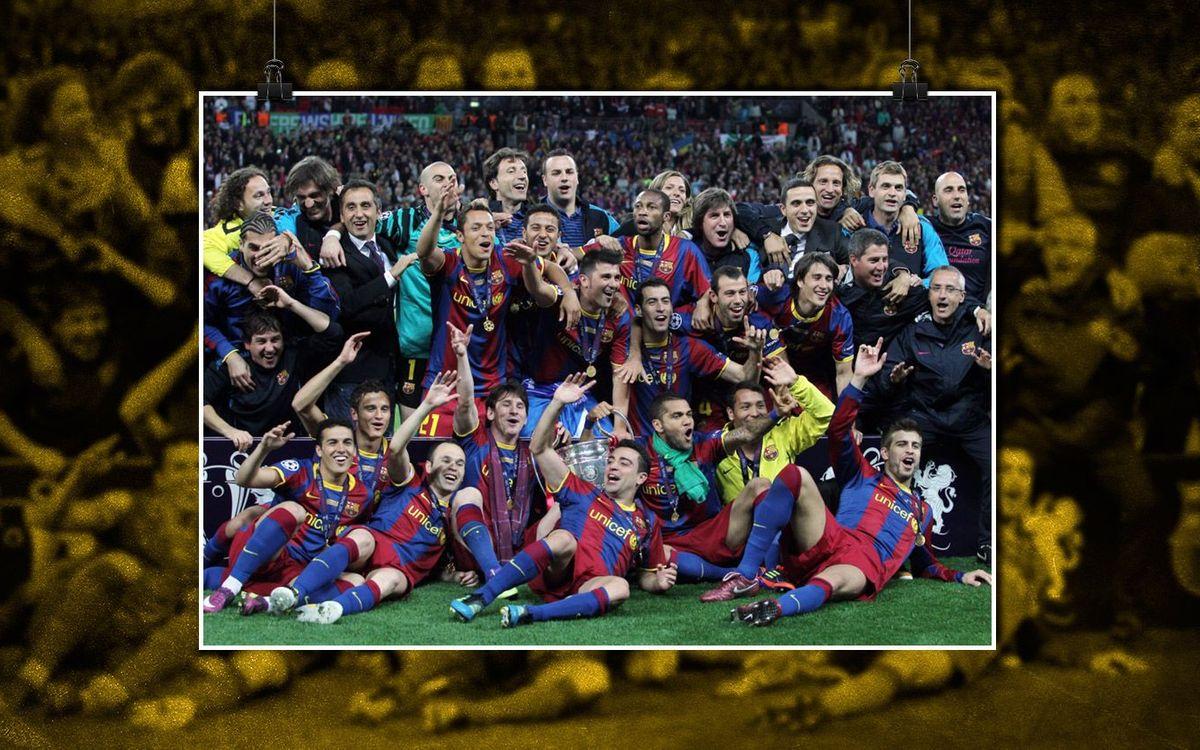 La història de les Finals de la Champions: Wembley 2011