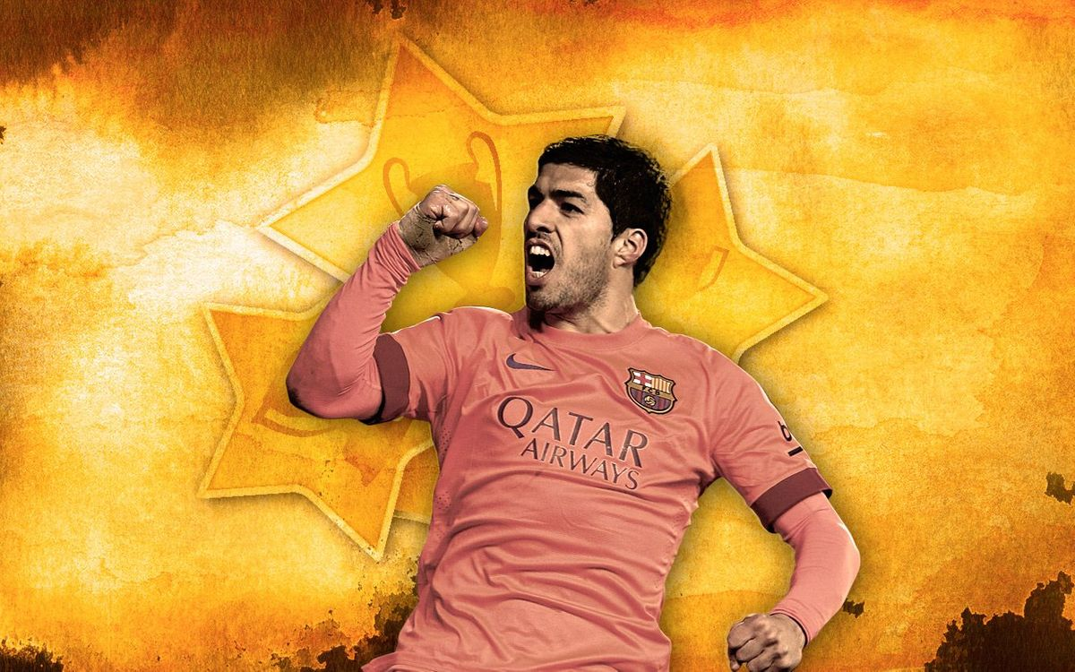 Vote for Suárez's best goal in 2014/2015 and win a Barça ball