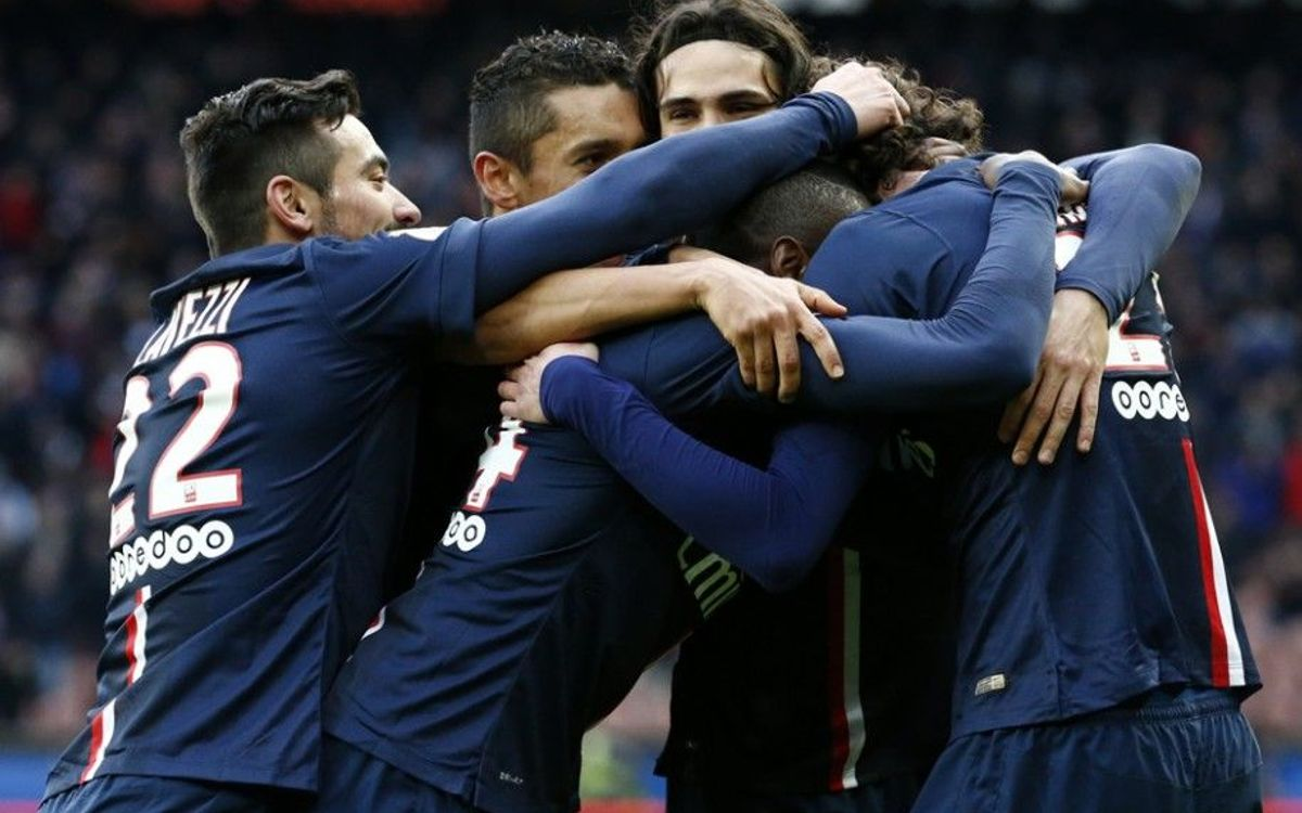 Real Madrid score nine, PSG win 3–2 at Marseille