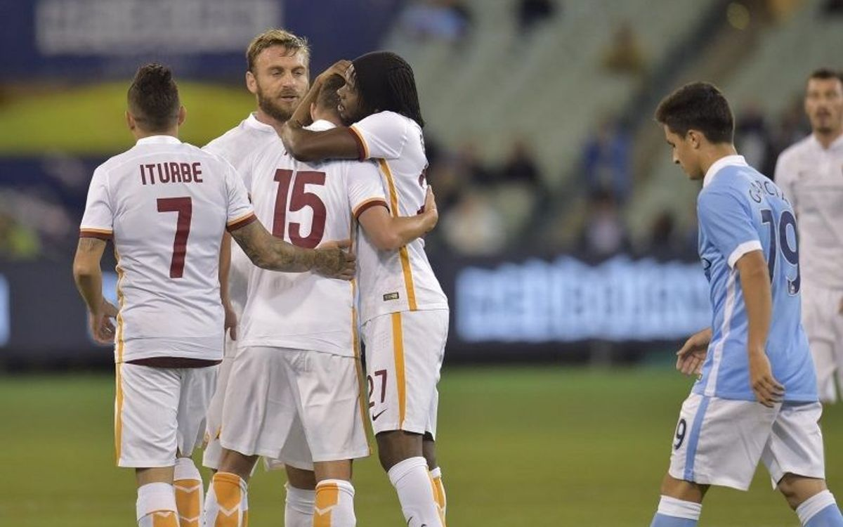 AS Roma lose on penalties to Manchester City