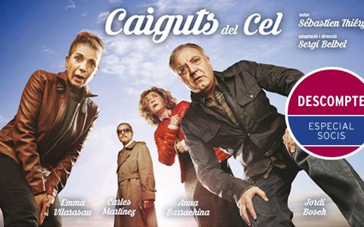 'Caiguts del Cel' al Teatre Condal amb descompte especial per a socis del FC Barcelona