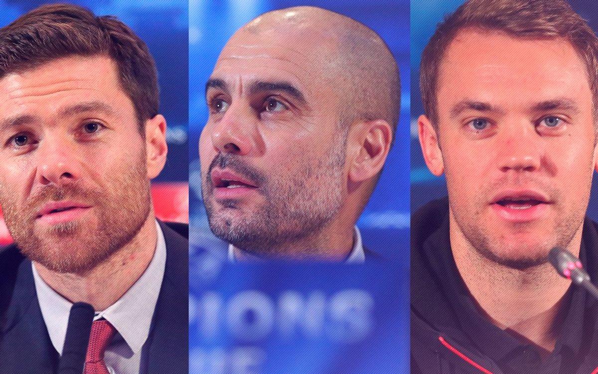 Les déclarations d'avant match des protagonistes du Bayern Munich