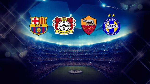 AS Roma TICKET UEFA CL 2015//16 Bayer Leverkusen