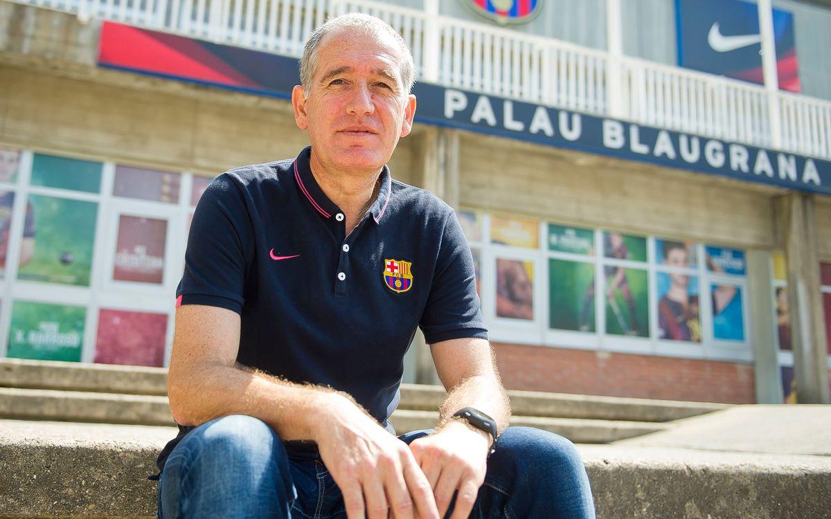 """Andreu Plaza: """"Hem lluitat pel títol i això ens ha donat un plus"""""""