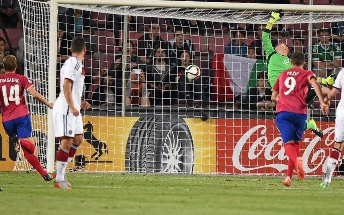 Marc-André ter Stegen and Germany open UEFA U-21 with a draw