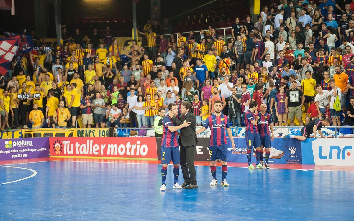 FC Barcelona – ElPozo Múrcia: No final for Barça (5-7)