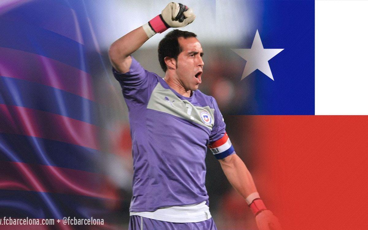 Le Chili de Claudio Bravo remporte la Copa America (0-0, 4-1 tab)