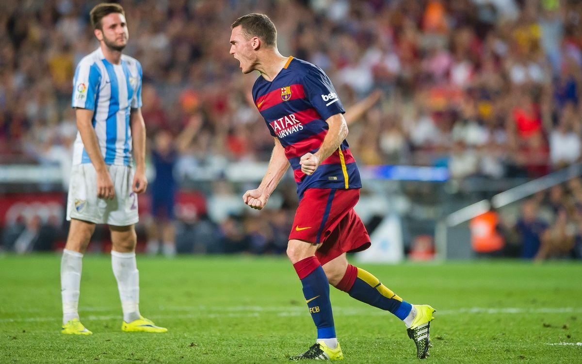 FC Barcelona v Málaga: Persistence pays off (1-0)