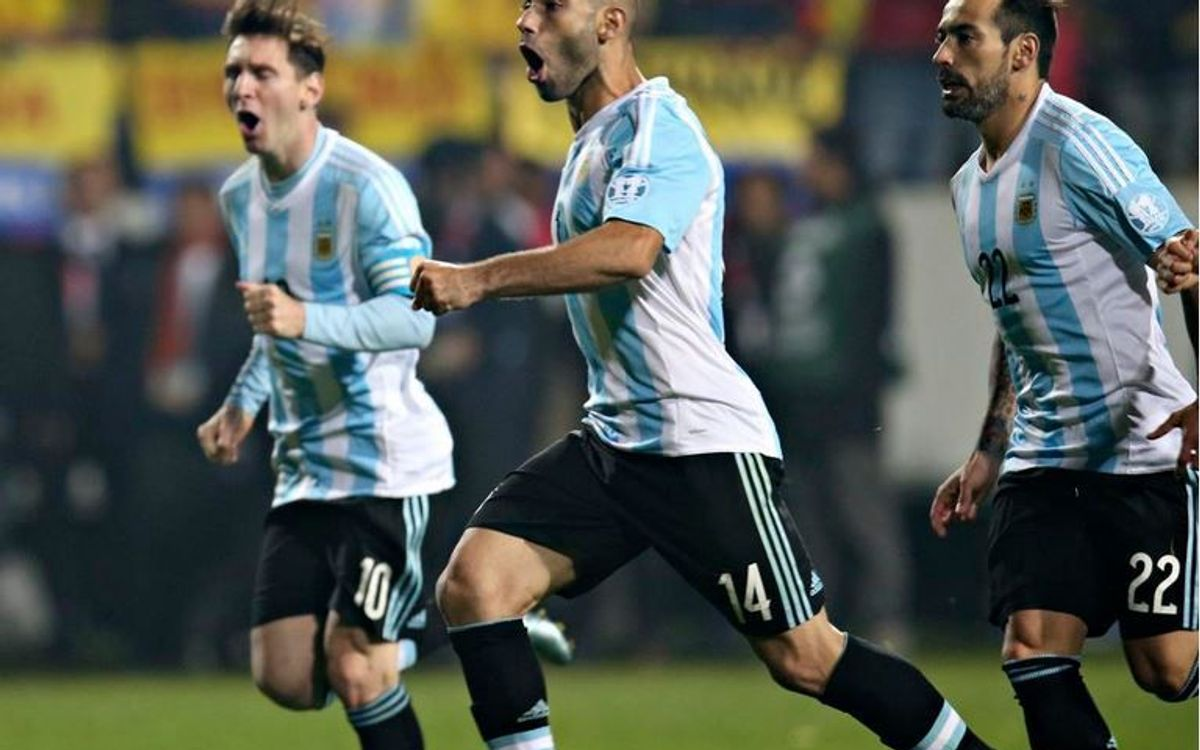 The Copa America, the challenge for Argentina, Leo Messi and Javier Mascherano