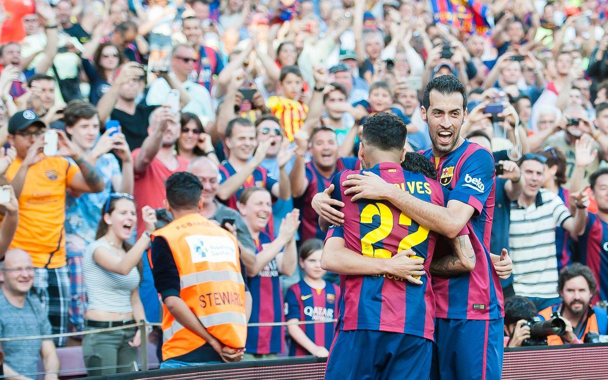 Atlético Madrid v FC Barcelona: Let's win the league!
