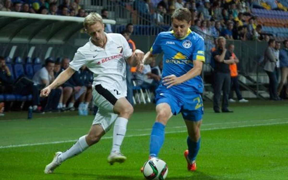 BATE Borisov win against Belshina and stay leaders