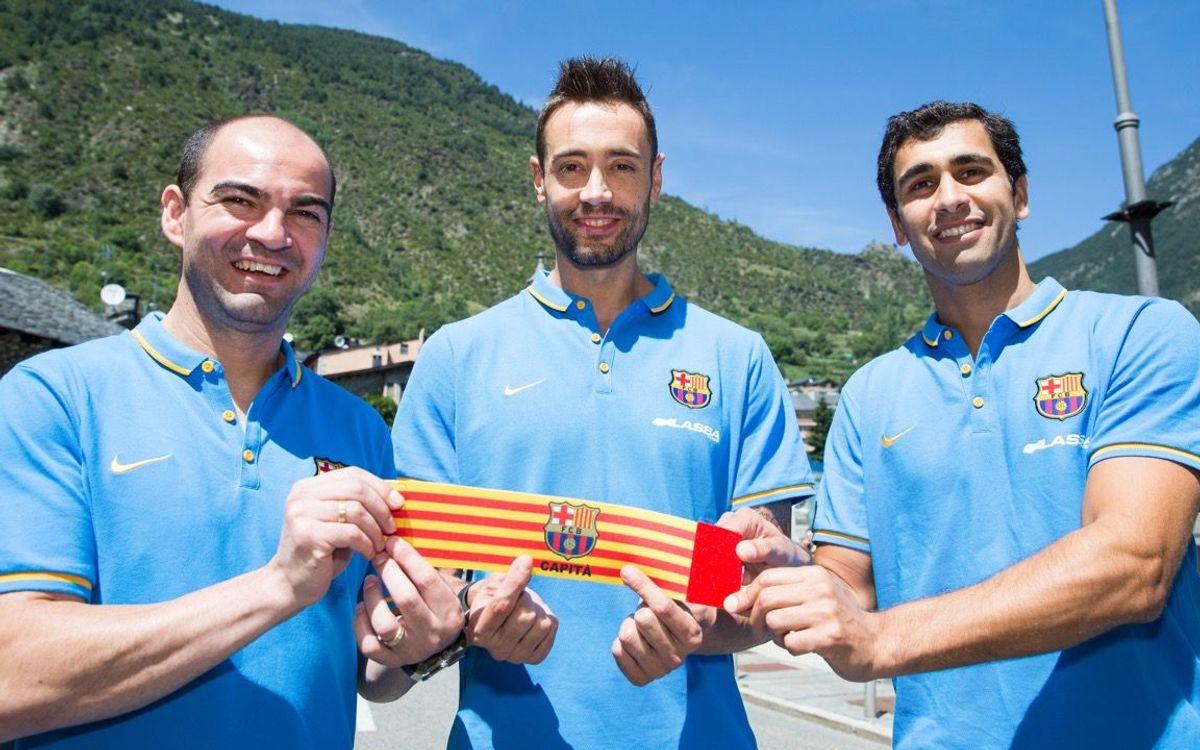 El brasiler Gabriel, escollit tercer capità del Barça Lassa