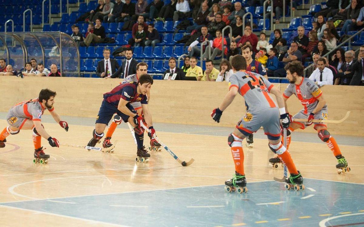 Igualada, Alcodiam i Caldes seran els rivals del FC Barcelona Lassa a la Lliga Catalana