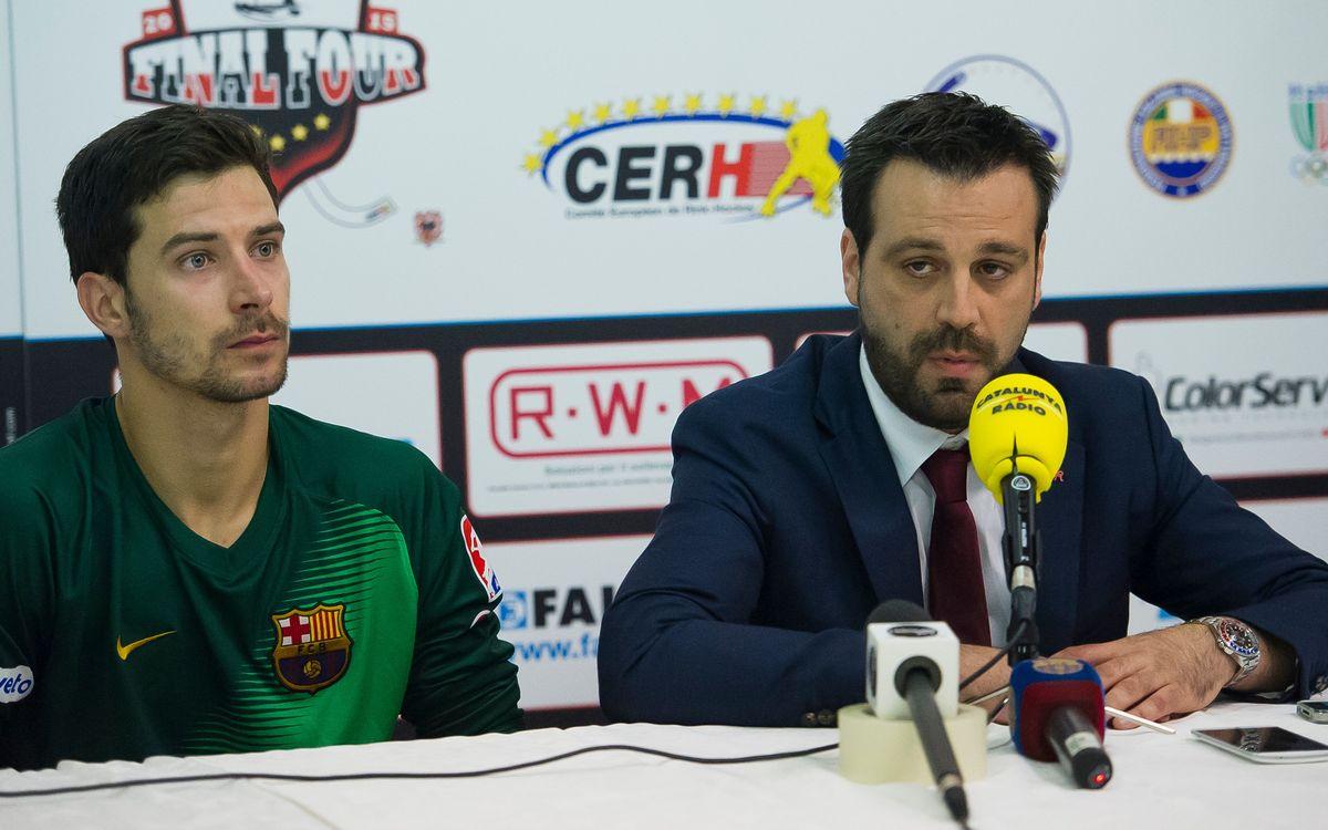 "Ricard Muñoz: ""Marcar en inferioritat reforça l'equip"""