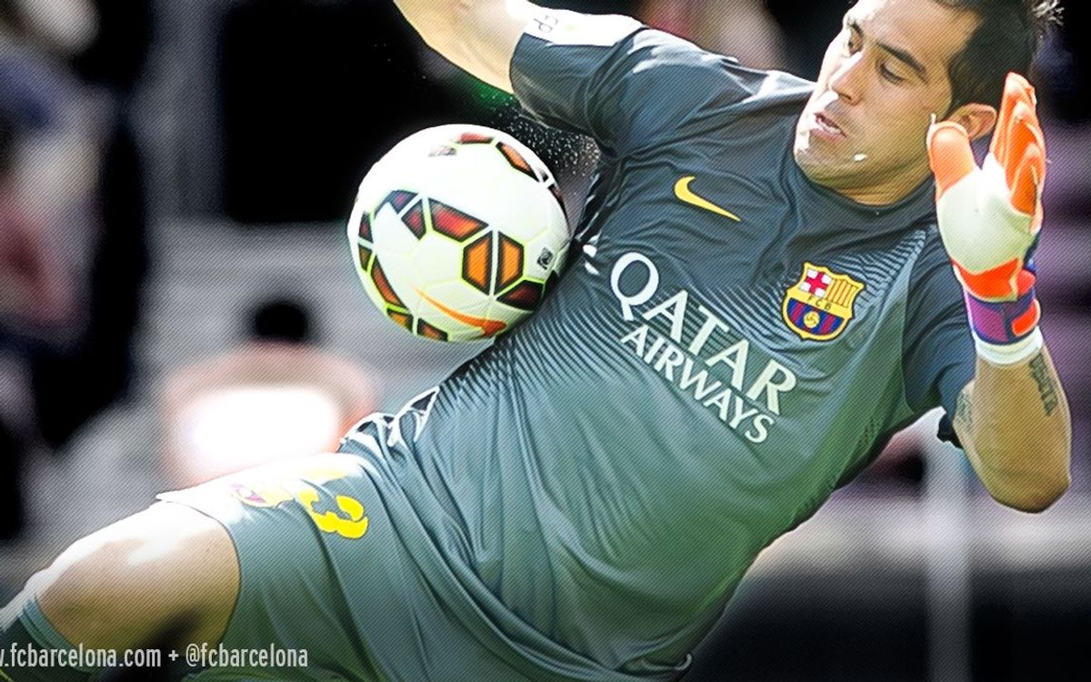 Claudio Bravo close to claiming Zamora Trophy