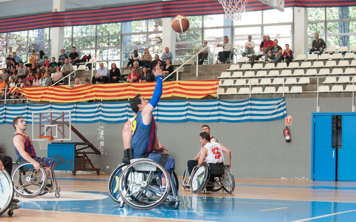 Els blaugranes jugaran la Final a Quatre de Vitòria (50-19)