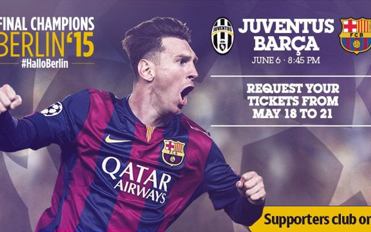 Champions League Final tickets from May 18