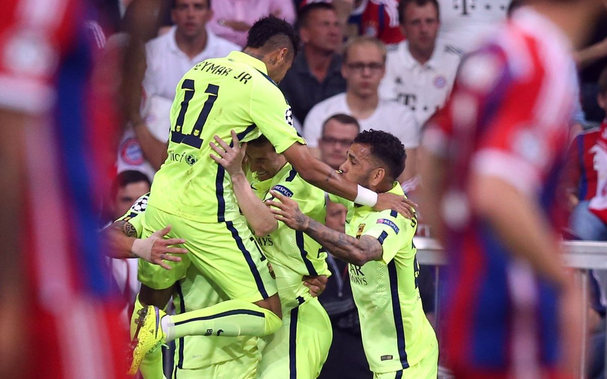 FC Bayern Munich – FC Barcelona: Berlin bound for the Champions League Final! (3-2)