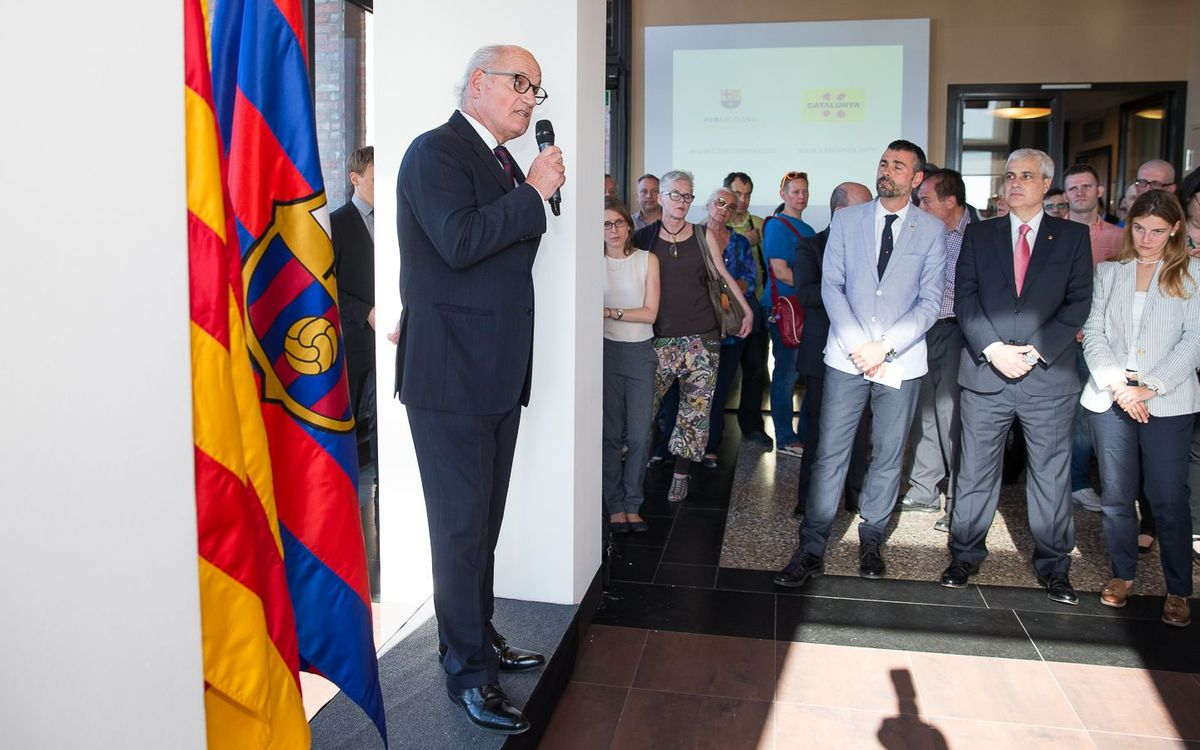El FC Barcelona i Catalunya promocionen la seva oferta turística a Berlín