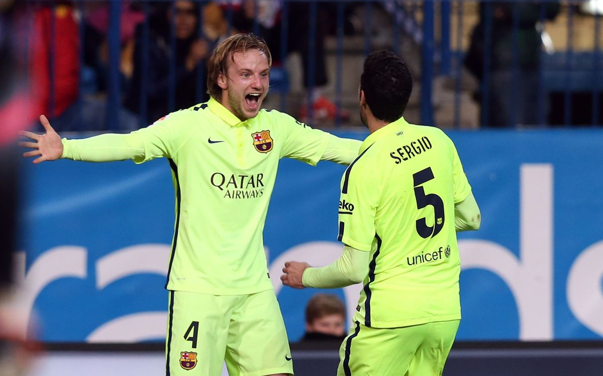 Ivan Rakitic celebrates birthday in fine form