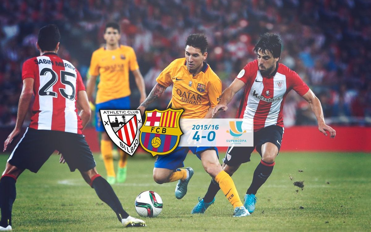 Athletic Club: 4 - FC Barcelona: 0