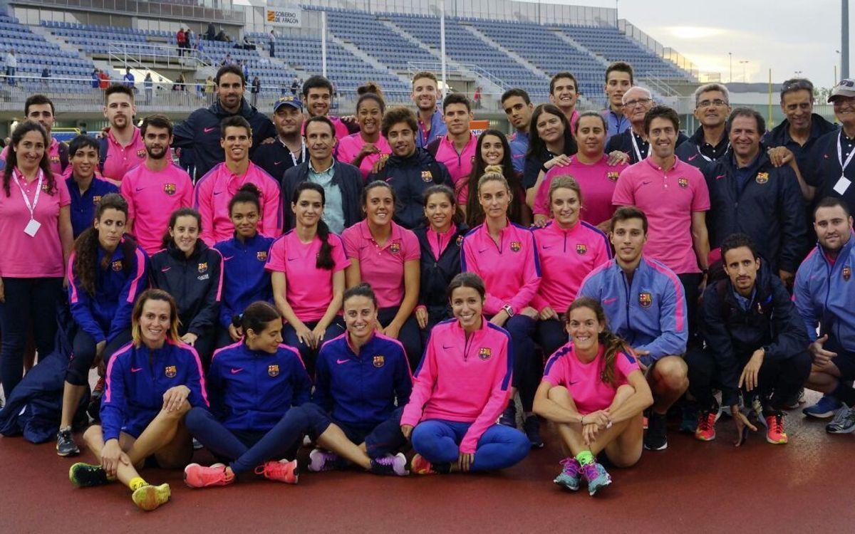 Els blaugranes acaben segons en categoria masculina i femenina al Campionat d'Espanya de Clubs