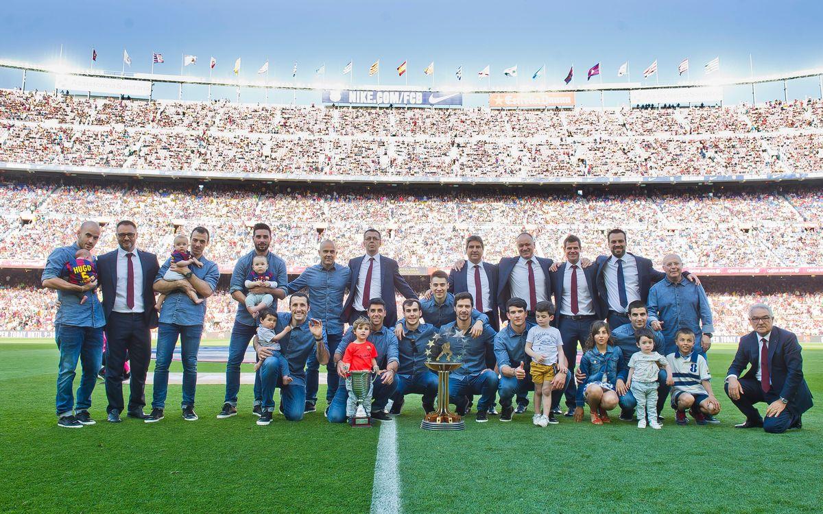 El Barça ofereix la Lliga Europea i l'OK Lliga al Camp Nou